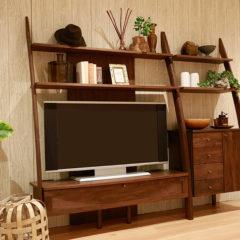 STREAM テレビボード 収納 壁面 オシャレ ウォールナット オーク