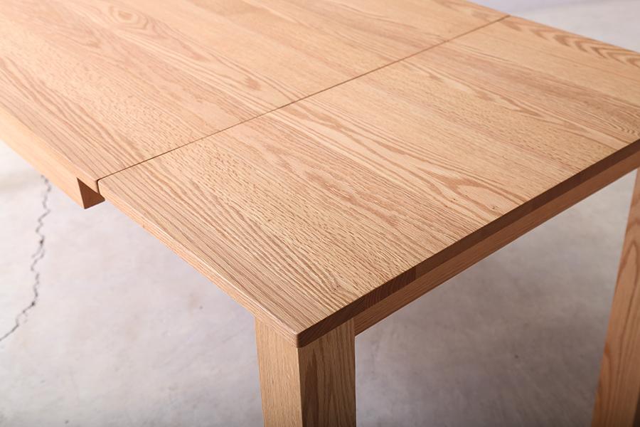 新潟 無垢 おしゃれ かっこいい 伸長式 ダイニング テーブル 家具 インテリア ダイニングセット チェア ダイニングチェア